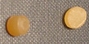 Discolored (Yellowing) pellets
